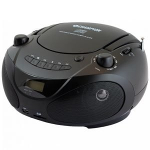 Champion Electronics Abb200b Cd-Soitin / Radio / Mp3 / Usb Musta