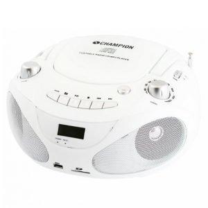 Champion Electronics Abb200w Cd-Soitin / Radio / Mp3 / Usb Valkoinen