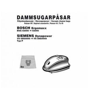 Champion Electronics Bosch Ergomax Pölypussit 5 Kpl 1056ch