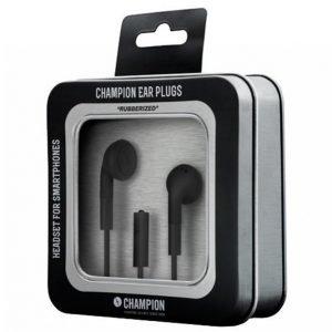 Champion Electronics Headset Ear Plugs Musta