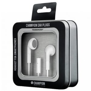 Champion Electronics Headset Ear Plugs Valkoinen