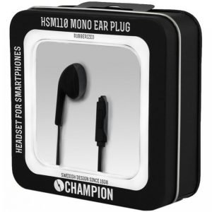 Champion Electronics Mono Ear Plug Pro Kuulokemikrofoni Hsm110b