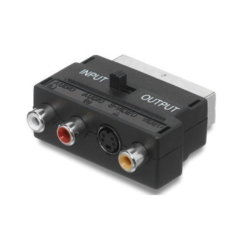 Champion Scart 3 RCA / 1 S-Video Adapter