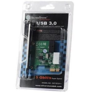 Chassi-Acc Silverstone SST-EC01-P Internal Dual port PCIe USB 3.0 LP
