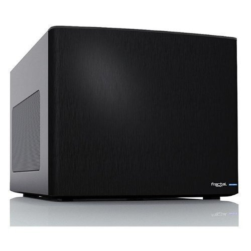 Chassi-Desktop Fractal Design Node 304 HTPC No PSU Black mITX