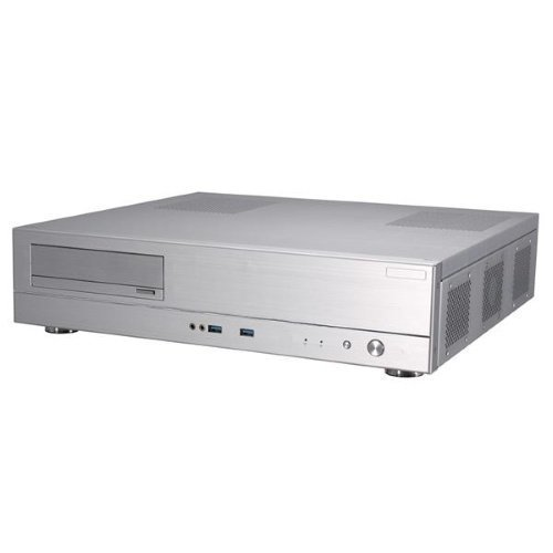 Chassi-Desktop Lian Li PC-C37B HTPC No PSU Silver mATX