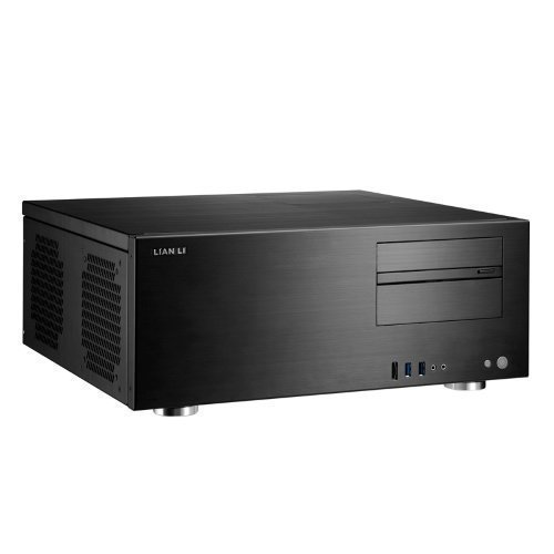 Chassi-Desktop Lian Li PC-C60 Domus HTPC No PSU Black ATX
