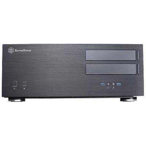 Chassi-Desktop Silverstone Grandia GD08B HTPC No PSU Black ATX