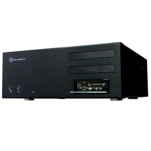 Chassi-Desktop Silverstone Lascala LC17B Black ATX HTPC no PSU