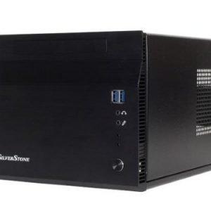 Chassi-Mini-ITX Silverstone Sugo SG06BB-Lite No PSU Black mITX
