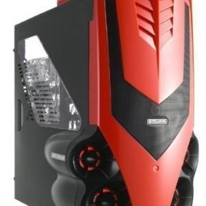 Chassi-Tower Aerocool Syclone II Red