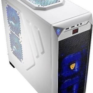 Chassi-Tower Aerocool VS-92 Mid Tower No PSU White ATX