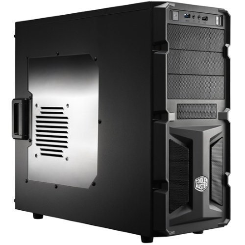 Chassi-Tower Cooler Master Elite K350 Tower No PSU Black ATX