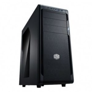 Chassi-Tower Cooler Master N500 Mid Tower Black No PSU ATX