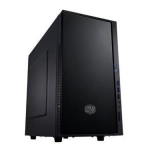 Chassi-Tower Cooler Master Silencio 352 Mini Tower Matte Black No PSU mATX