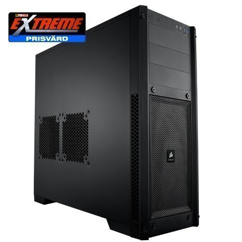 Chassi-Tower Corsair Carbide 300R Gaming Black Miditower No PSU