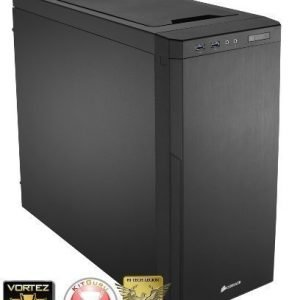 Chassi-Tower Corsair Carbide Series 330R Quiet Black Midtower No PSU