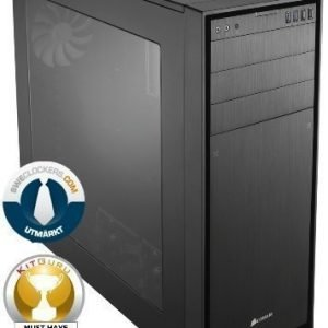 Chassi-Tower Corsair Obsidian Series 750D Tower Black no PSU mATX