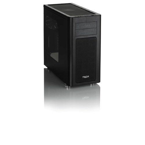 Chassi-Tower Fractal Design Arc Midi R2 Windowed Tower No PSU Black ATX