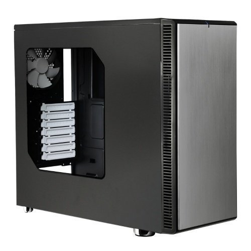 Chassi-Tower Fractal Design Define R4 Titanium Window Tower No PSU Titanium ATX