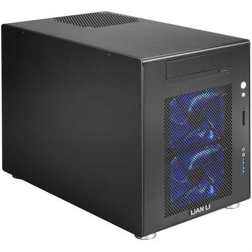 Chassi-Tower Lian Li PC-V354B svart alu MATX/mini-ITX minitower no PSU