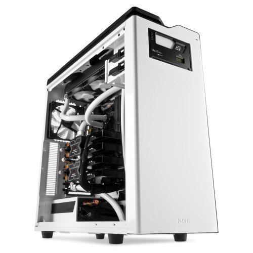 Chassi-Tower NZXT H630 Silent Ultra Tower No PSU White ATX