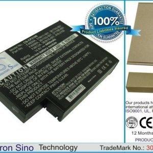 Compaq Pavilion ZE5512AP-DR222A OmniBook XE4500s-F4867HG Pavilion ZE4910US-M033UA Pavilion XT118 akku 4400 mAh