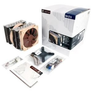 Cooling-CPU Noctua NH-D14 CPU-kylare S1150/1155/1156/1366/775/AM2/AM3