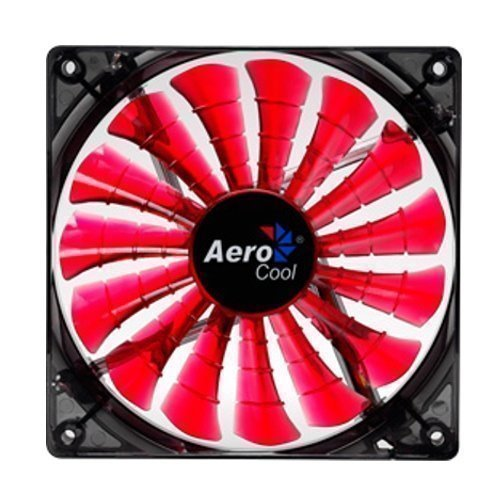 Cooling-Fan Aerocool Shark Fan Devil Red Edition 120mm