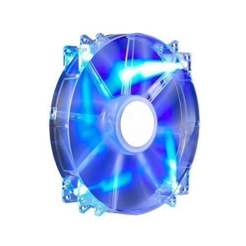 Cooling-Fan Cooler Master MegaFlow 200 Blue LED Silent Fan