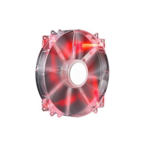 Cooling-Fan Cooler Master MegaFlow 200 Red LED Silent Fan
