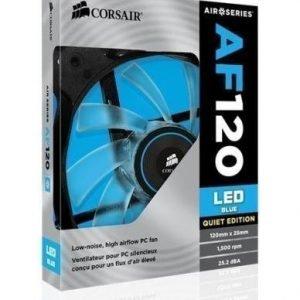 Cooling-Fan Corsair AF120 Quiet Edition Blue LED Fan Single Pack