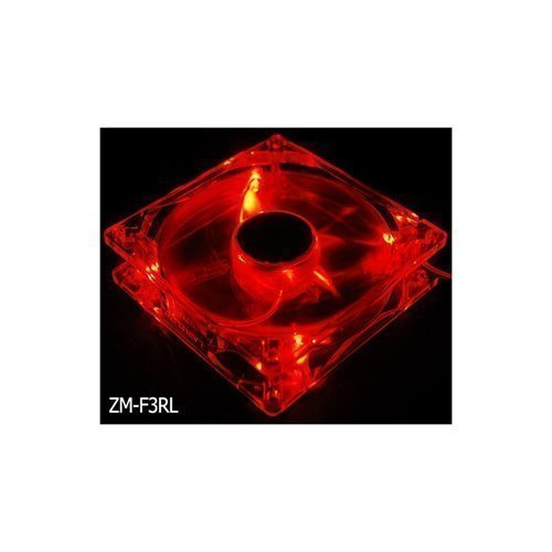 Cooling-Fan Zalman 120mm LED Red