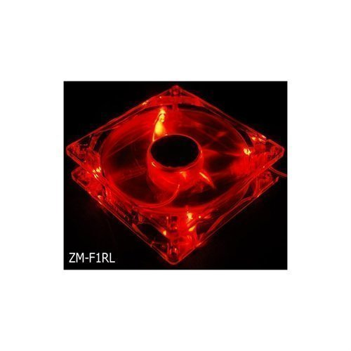 Cooling-Fan Zalman 80mm LED Red