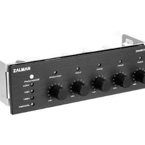 Cooling-Misc Zalman MFC1 Combo Fan Controller Black