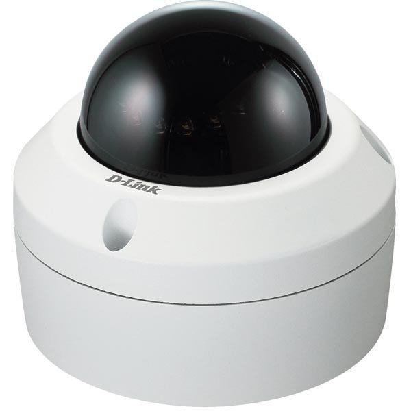 D-LINK ull HD Outdoor Fixed Dome Network Camera (Black Smoked)