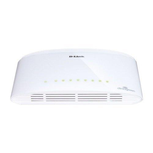 D-Link DGS-1008D switch 8x10/100/1000 Mbps