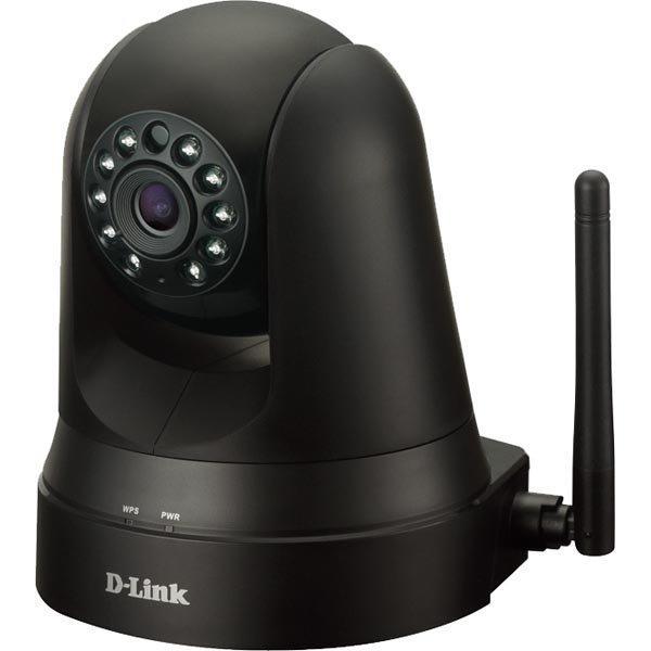 D-Link mydlink Home Monitor 360 verkkokamera WLAN musta
