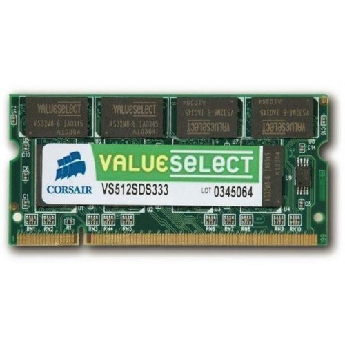 DDR-DIMM1333 Corsair Value Select 512MB DDR 333MHz