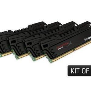 DDR3-DIMM-2400 Kingston Beast Series XMP 4x4GB DDR3 2400MHz CL11