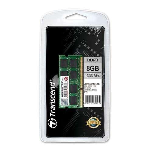 DDR3-DIMM1333 Transcend 8GB DDR3 SO-DIMM 1333MHz