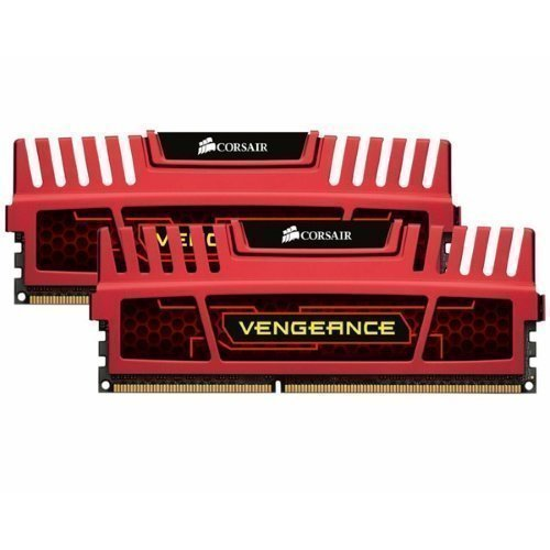 DDR3-DIMM1600 Corsair Vengeance Dual Channel 2x8GB DDR3 1600MHz Red