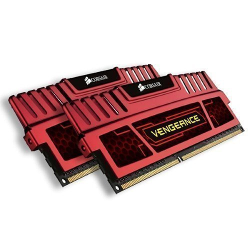 DDR3-DIMM1600 Corsair XMS3 Vengeance Red DDR3 PC12800/1600MHz CL7 2x4GB
