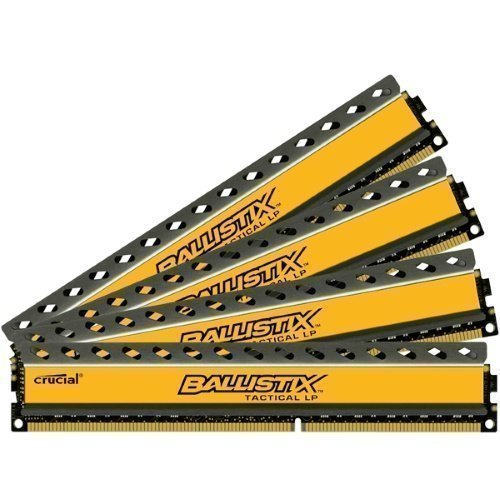 DDR3-DIMM1600 Crucial BallistiX Tactical LP 4x8GB DDR3 1600MHz Low Profile