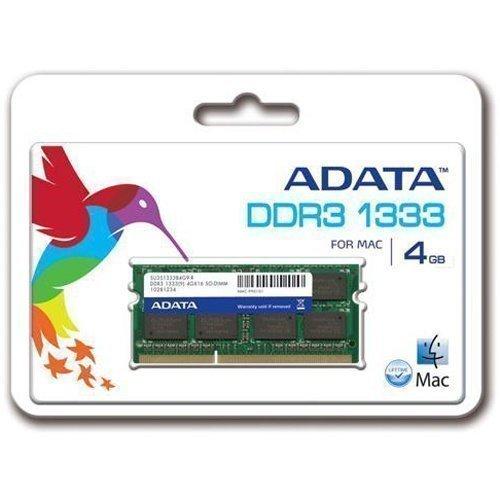 DDR3-SODIMM-1333 A-data Apple Series 4GB DDR3 SO-DIMM 1333MHz
