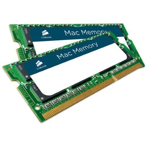 DDR3-SODIMM-1333 Corsair MAC Memory SO-DIMM DDR3 PC10600/1333MHz CL9 2x8GB