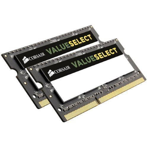 DDR3-SODIMM-1333 Corsair Value Select SO-DIMM DDR3 PC10600/1333MHz CL9 2x8GB