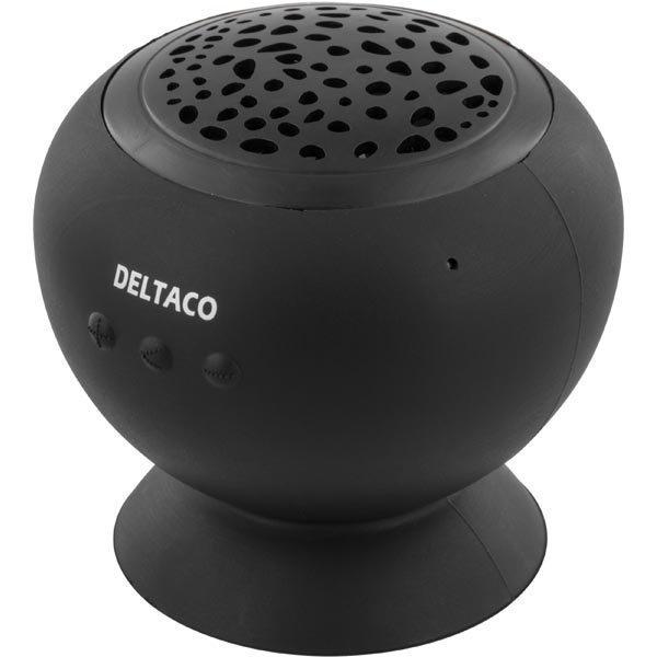 DELTACO Bluetooth kaiutin 3W 10m 500mAh USB Micro B musta