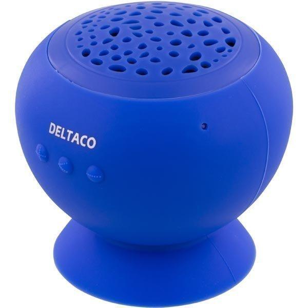 DELTACO Bluetooth kaiutin 3W 10m 500mAh USB Micro B sin.