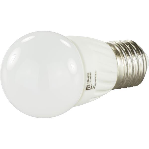 DELTACO LED-lamppu 3W 190lm E27 G45-pallo 240V 2600-2800K